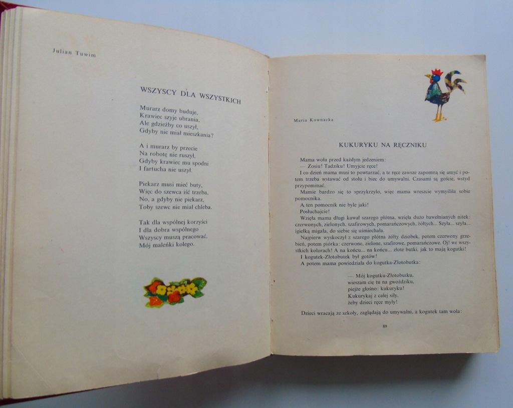 Kolorowy świat Wiersze I Proza Dla Dzieci Unikat