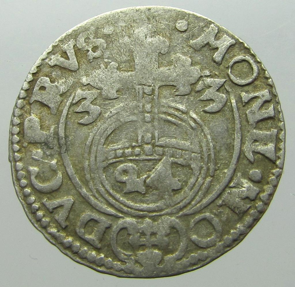 Jerzy Wilhelm Półtorak Pruski 1633 r. Rzadki