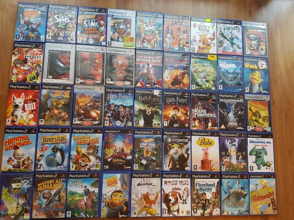 Gry Dla Dzieci Ps2 Sims Shrek Harry Potter Spider 7500042547 Oficjalne Archiwum Allegro