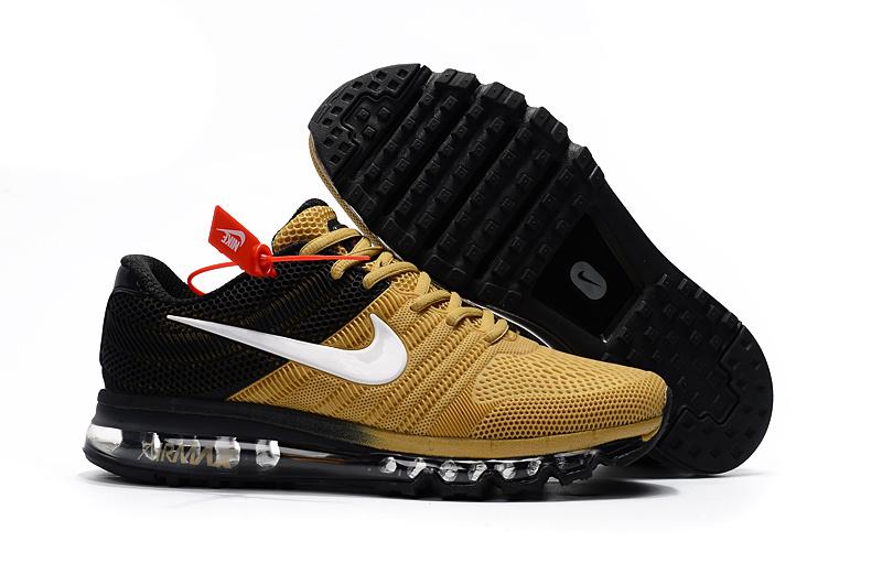 buty nike air max kpu gold-czarny-biały