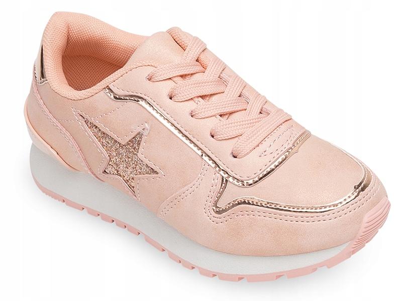 Buty sportowe dziecięce NM E22 73 Różowe 33