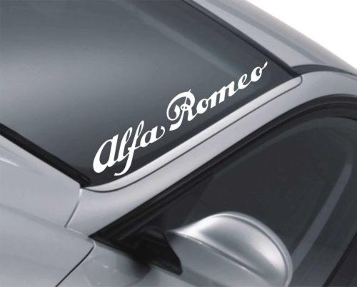 Naklejka Na Szybe Alfa Romeo 147 156 Jdm Drift 7031788781 Oficjalne Archiwum Allegro