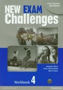 New Exam Challenges 4 Workbook z płytą CD gimnazju
