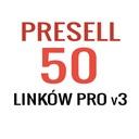 Pozycjonowanie - 50 Presell PRO 3 | Prywatne Linki