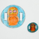 Folia termokurczliwa 30x20cm przezroczysta matowa Wiek dziecka 6 lat +