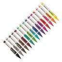 Talens Ecoline Brush Pen Markery 15kol NEW