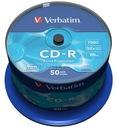 PŁYTY VERBATIM CD-R 700MB 52x Cakebox 50 szt.f.vat