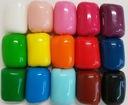 глазурь пластичность-Масса вата 100 г - 17 цвета