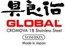 Global japoński nóż kuchenny do wykrawania GF-40 Materiał uchwytu stalowy