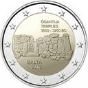 2 euro Malta GGantija Świątynie megalityczne 2016