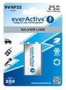 Akumulatorki Everactive 9V 250mAh Wa-Wa Ready2Use