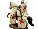 РЫЦАРЬ НА КОНЕ КРЕСТОВЫЙ ПОХОД МАЛЬТИЙСКИЙ КРЕСТ НОВИНКА !! доставка товаров из Польши и Allegro на русском