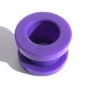 TUNEL ODKRĘCANY FIOLETOWY 10mm  akryl