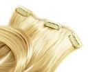Dopinka treska15cm włosy naturalne CLIP IN on 50cm