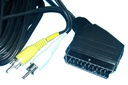 KABEL dekoder DVB-T - TV __ EURO - 2RCA 3m (0235)