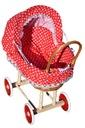 Wiklinowy wózek dla lalek wozek wózki 14 kolorów