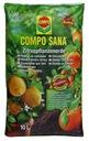 Hintergrund der Zitrusfrüchte 10 l COMPO SANA Bodenqualität