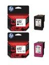 Tusze do drukarek HP 652 F6V24AE,F6V25AE Oryginał