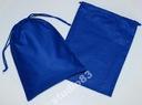 Worki, worek bawełniany -18/25cm - niebieski