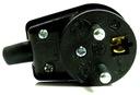 Wtyczka elektryczna kątowa z uziemieniem 16A 250V