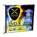 DVD-R EXTREME 4,7 GB X16-SLIM CASE 1 szt.