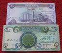 ZESTAW BANKNOTÓW - IRAK !!! STAN UNC !!! SUPER