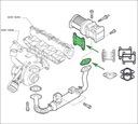 Zaślepki EGR 1.9 TiD SAAB 9-3 9-5 150KM Z19DTH Producent części Kreft