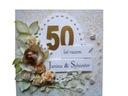 KARTKA 25 50 30 40 ROCZNICA ŚLUBU W PUDEŁKU zamów