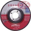 DRONCO Tarcze do zdzierania stali PERFECT 115x6,0