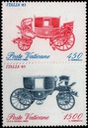 Watykan. Mi 880-81 - Samochody z Muzeum Watykanu