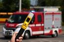 POLICYJNY alkomat iBlow bezustnikowy przesiewowy Zasilanie baterie AA