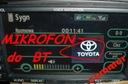 SAMontuj MIKROFON do oryginalnego BT Toyota