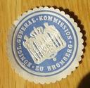 XIX w. Zalepka Bromberg Bydgoszcz Zalepki