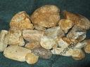 Kamienie akwarystyczne, otoczaki kwarcowe, żwirek