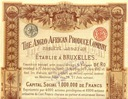 !THE ANGLO AFRICAN PRODUCE COMPANY! S. DEKO!1897!