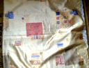 ZASŁONA KOTARA kolorowa 152x155 1szt