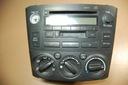 PANEL RADIO CD KLIMA TOYOTA AVENSIS T25 86120-0507