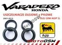 Honda Varadero 125 XL uszczelniacze pyłowe olejowe