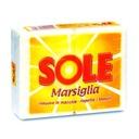 SOLE włoskie mydło do prania Marsylia, 2x250g