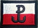78 Flaga Naszywka Polska Walcząca GROM 55/38
