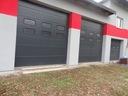 bramy SEGMENTOWE garażowe - warsztatowe na WYMIAR