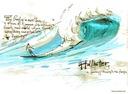bluza Hollister Abercrombie longsleeve XXL Tygrys Wzór dominujący inny wzór