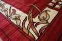 DYWAN HEAT-SET PRIMO 150x300 LIŚCIE bordo #GR1338 Kolor beżowy odcienie czerwieni odcienie brązowego wielokolorowy