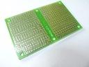 Płytka uniwersalna U-004 - 80x50 [mm] - wiercona