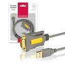 Adapter Konwerter USB do RS232 COM FTDI DB9 1,5m EAN 12345670