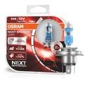 OSRAM Żarówki H4 Night Breaker Laser +150% Next Rodzaj Tradycyjne / halogenowe