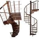 Лестница Вьющиеся КОРА модель Бавария вертикаль 03 120