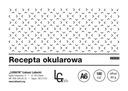 RECEPTA OKULAROWA, RECEPTY na okulary bl. 100 k A6