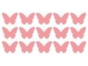 Naklejka Motylki Motyle, dziecięce wzory na ścianę