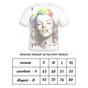 KOSZULKA FULLPRINT T-shirt KOŃ S MŁODZIEŻOWA MODNA Rozmiar 36 (S)